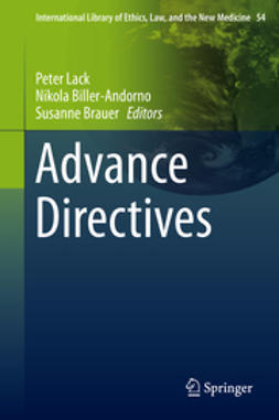 Lack, Peter - Advance Directives, ebook