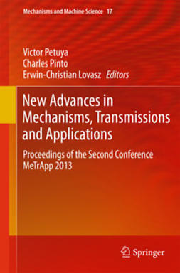 Petuya, Victor - New Advances in Mechanisms, Transmissions and Applications, ebook