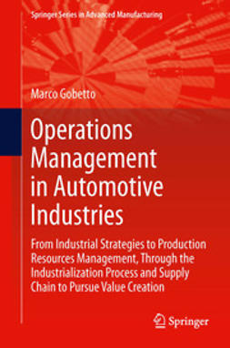 Gobetto, Marco - Operations Management in Automotive Industries, ebook