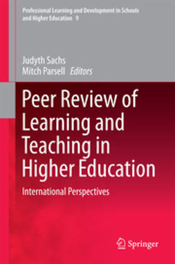 Sachs, Judyth - Peer Review of Learning and Teaching in Higher Education, ebook