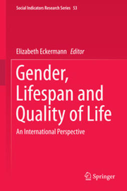 Eckermann, Elizabeth - Gender, Lifespan and Quality of Life, ebook