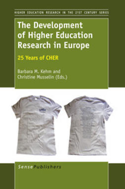 Kehm, Barbara M. - The Development of Higher Education Research in Europe, ebook