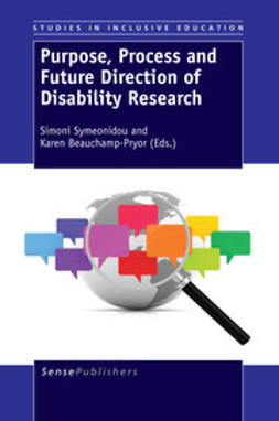 Symeonidou, Simoni - Purpose, Process and Future Direction of Disability Research, e-bok