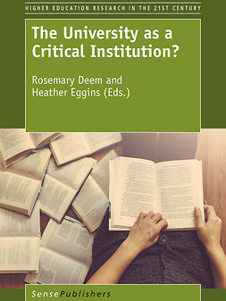 Deem, Rosemary - The University as a Critical Institution?, ebook