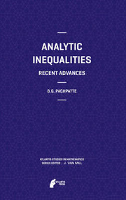 Pachpatte, B.G. - Analytic Inequalities, ebook