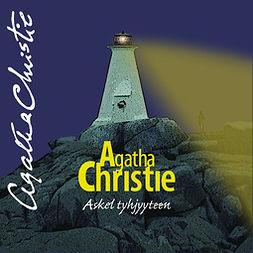 Christie, Agatha - Askel tyhjyyteen, äänikirja