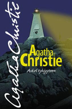 Christie, Agatha - Askel tyhjyyteen, e-bok
