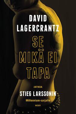 Lagercrantz, David - Se mikä ei tapa, ebook