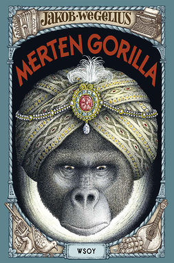 Wegelius, Jakob - Merten gorilla, ebook