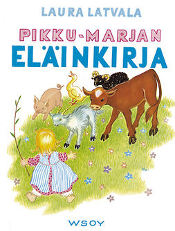 Latvala, Laura - Pikku-Marjan eläinkirja, e-kirja