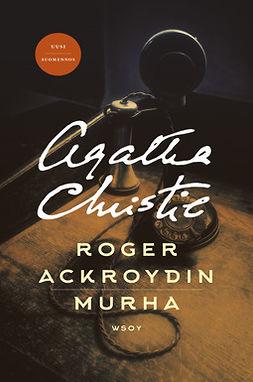 Christie, Agatha - Roger Ackroydin murha, e-kirja