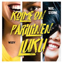 Stone, Nic - Kolme on parillinen luku, äänikirja