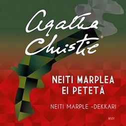Christie, Agatha - Neiti Marplea ei petetä, äänikirja