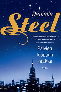 Steel, Danielle - Päivien loppuun saakka, e-kirja