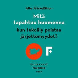 Jääskeläinen, Atte - Mitä tapahtuu huomenna, kun tekoäly poistaa järjettömyydet?, audiobook