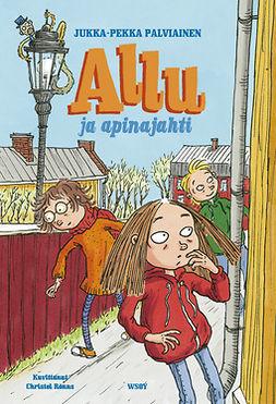 Palviainen, Jukka-Pekka - Allu ja apinajahti, ebook