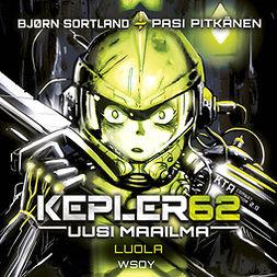 Sortland, Bjørn - Kepler62 Uusi maailma: Luola, äänikirja