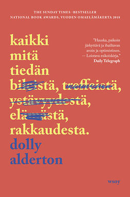 Alderton, Dolly - Kaikki mitä tiedän rakkaudesta, e-kirja
