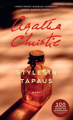 Christie, Agatha - Stylesin tapaus: Hercule Poirot, e-kirja