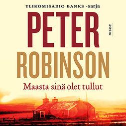 Robinson, Peter - Maasta sinä olet tullut, äänikirja