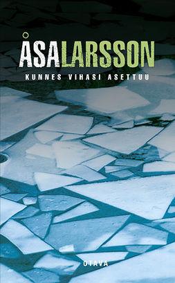 Larsson, Åsa - Kunnes vihasi asettuu, ebook