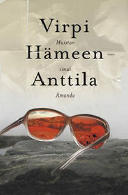 Hämeen-Anttila, Virpi - Muistan sinut Amanda, e-kirja
