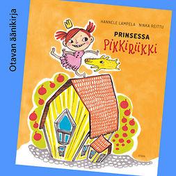 Lampela, Hannele - Prinsessa Pikkiriikki, äänikirja