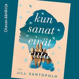 Santopolo, Jill - Kun sanat eivät riitä, audiobook