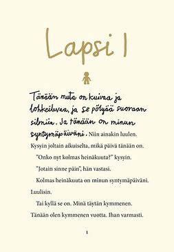 Tasane, Steve - Lapsi I, ebook