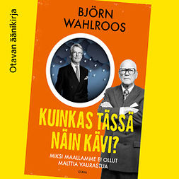 Wahlroos, Björn - Kuinkas tässä näin kävi?: Miksi maallamme ei ollut malttia vaurastua, äänikirja