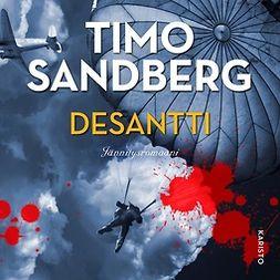 Sandberg, Timo - Desantti, äänikirja