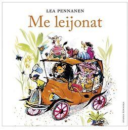 Pennanen, Lea - Me leijonat, äänikirja