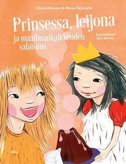 Hiltunen, Elina - Prinsessa, leijona ja maailmankaikkeuden salaisuus, e-kirja