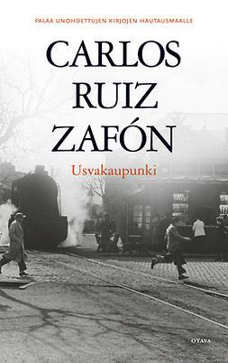 Zafón, Carlos Ruiz - Usvakaupunki, e-kirja