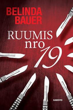 Bauer, Belinda - Ruumis nro 19, e-kirja