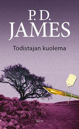 James, P. D. - Todistajan kuolema, e-kirja
