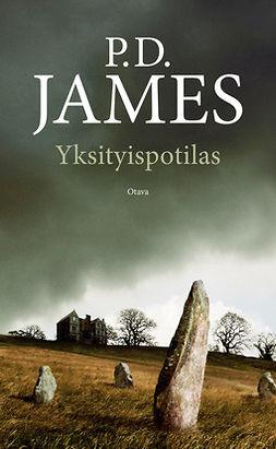 James, P. D. - Yksityispotilas, e-kirja