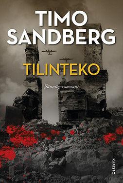 Sandberg, Timo - Tilinteko, e-kirja