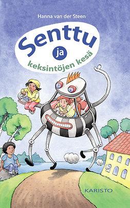 Steen, Hanna van der - Senttu ja keksintöjen kesä, e-kirja
