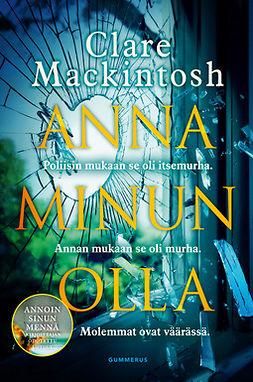 Mackintosh, Clare - Anna minun olla, e-kirja