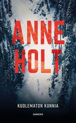 Holt, Anne - Kuolematon kunnia, äänikirja