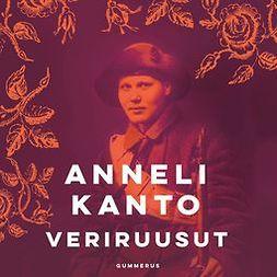 Kanto, Anneli - Veriruusut, äänikirja