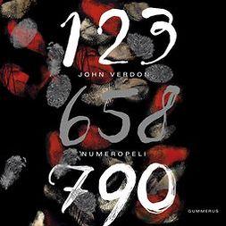 Verdon, John - Numeropeli, äänikirja