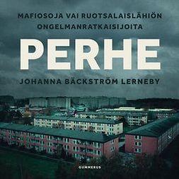 Lerneby, Johanna Bäckström - Perhe: Mafiosoja vai ruotsalaislähiön ongelmanratkaisijoita, äänikirja