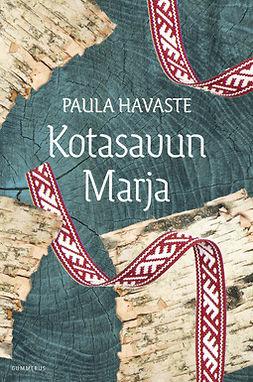 Havaste, Paula - Kotasavun Marja, e-kirja