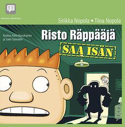 Nopola, Sinikka - Risto Räppääjä saa isän, audiobook