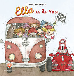 Parvela, Timo - Ella ja Äf Yksi, audiobook