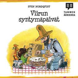 Nordqvist, Sven - Viirun syntymäpäivät, audiobook