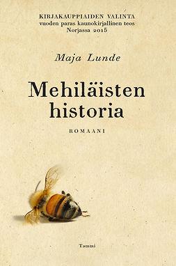 Lunde, Maja - Mehiläisten historia, e-kirja