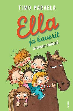 Parvela, Timo - Ella ja kaverit hevosen selässä, e-kirja